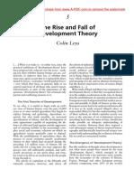 Colin Leys Rise Fall