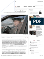 Cazando al 'depredador' sexual callejero | S Moda EL PAÍS
