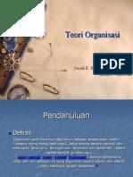 Teori Organisasi A