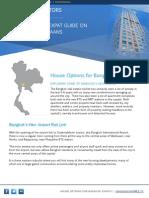 New House Options for Bangkok Expats