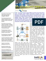 Haltek v-TAX Peralihan PBB-P2 Brochure
