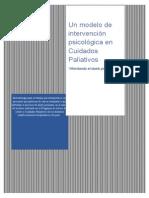 Un modelo de intervención psicológica en Cuidados Paliativos