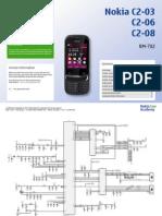 Nokia c2-03, c2-06, c2-08 Rm-702 Service Schematics v1.0