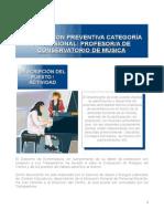 Ficha Informacion Profesor Conservatorio Musica