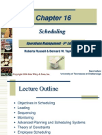 Scheduling PPT
