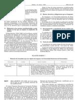 Real Decreto 375-1999 de 5 de Marzo
