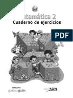 2o Grado Cuaderno de Trabajo de Matematicas