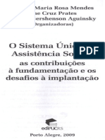 A política de assistência social e o Sistema Único da Assistência Social a trajetória da constituição da política pública
