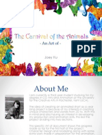 The Carnival of the Animals Art of- Major Project