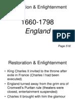 0restoration & Enlightenment