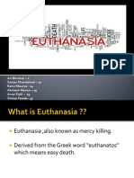 Group No.11 Euthanasia