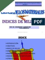 1. Sem 6 Indices de Miller