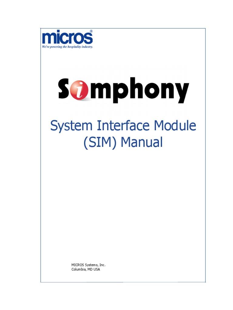 simphony sim manual pdf scripting language command line interface rh es scribd com 2018 Bob Hairstyles 2018 Bob Hairstyles