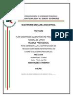 80739190 Manual de Mantenimiento de Turbinas de Vapor