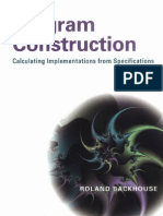 Program Construction Calculating Implementations From Specifications
