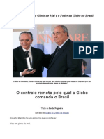 Roberto Marinho, o Gênio do Mal e o Poder das Organizações Globo no Brasil