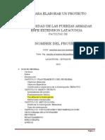 PASOS ELABORACION DE UN  PROYECTO (PIS).docx