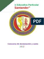 CONCURSO DE DECLAMACIÓN
