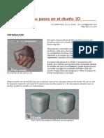 Primeros pasos en el diseño 3D