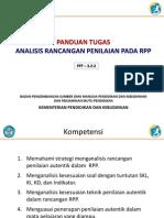 3.2.2 Panduan Tugas Analisis Rancangan Penilaian