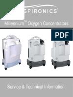 Respironics Millennium Oxygen Concentrator - Service Manual