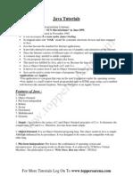 Basics of Java Programming