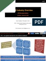 GSA LTE Industry Overview APT700 Industry Seminar Barcelona 230214