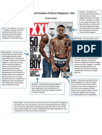 Task 2 Detailed Analysis of Music Magazine XXL