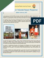 Yolanda Update Feb 2014
