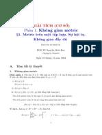 Giai Tich Co So (PGS.ts. Nguyen Bich Huy)