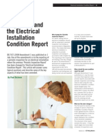 2011 40 Autumn Wiring Matters Electrical Installation Condition Report
