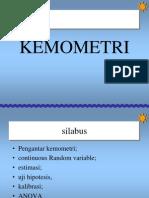 KEMOMETRI 1