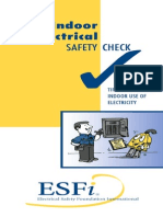 ESFI Indoor Electrical Safety Check English