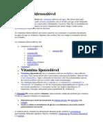 Vitamina hidrossolúvel