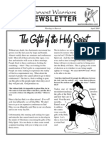 HW April 05 - The Gift of the Holy Spirit