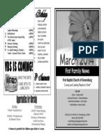 FBC Newsletter 03 2014