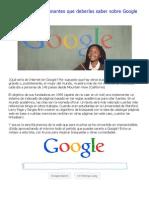 Trucos que deberías saber sobre Google - Identi