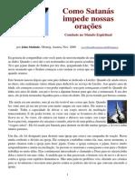 Portuguese How Satan Stops Our Prayers