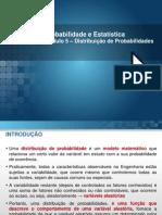 Módulo 5 - Distribuição de Probabilidades