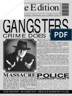 Gangsters Instuction Manual