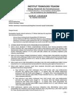 Surat Edaran - Warek I - 18 Agustus 2011 - Aturan Transisional Registrasi Semester Ganjil 2011-2012
