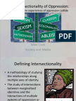 the intersectionality of oppression