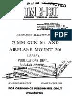 TM 9-1311 ( 75-mm Gun M4 and Airplane Mount M6 ).pdf