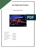 Consumer Behavior Project- Maruti Swift