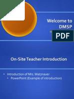 watznauer demo classroom 2013
