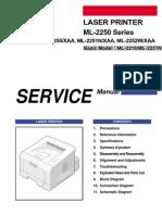 Samsung Ml2250 Printer Manual
