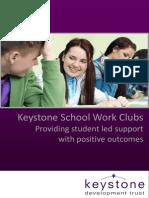 Keystone School Work Club Prospectus