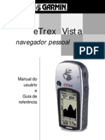 Manual Etrex Vista