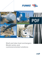 eBroc-Shell and Tube Heat Exchangers Model Series and Customer Oriented Solutions, Funke