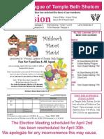 Final March-April Vision Newsletter